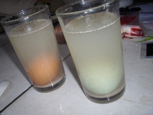 air putih + merica
